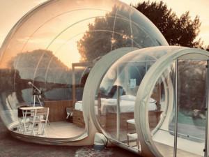 Aldebre Inmobiliaria   Sorteo 15 aniversario fotos hotel burbuja